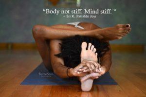 body not stiff